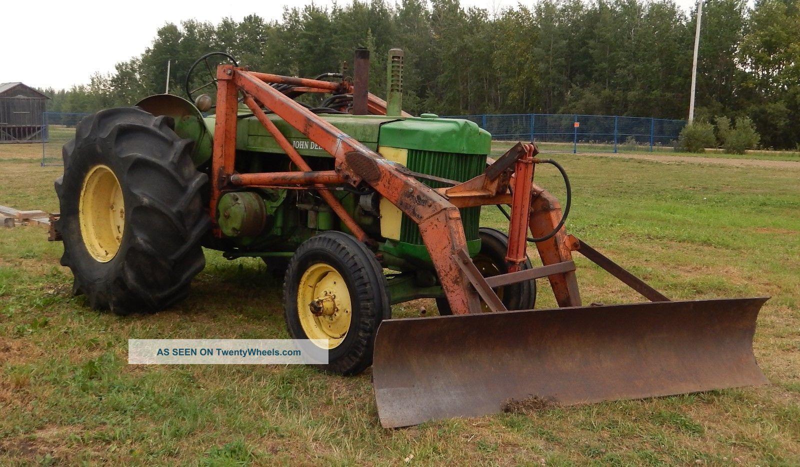 R John Deere Diesel Tractor Ie Du Al Front End Loader Lgw
