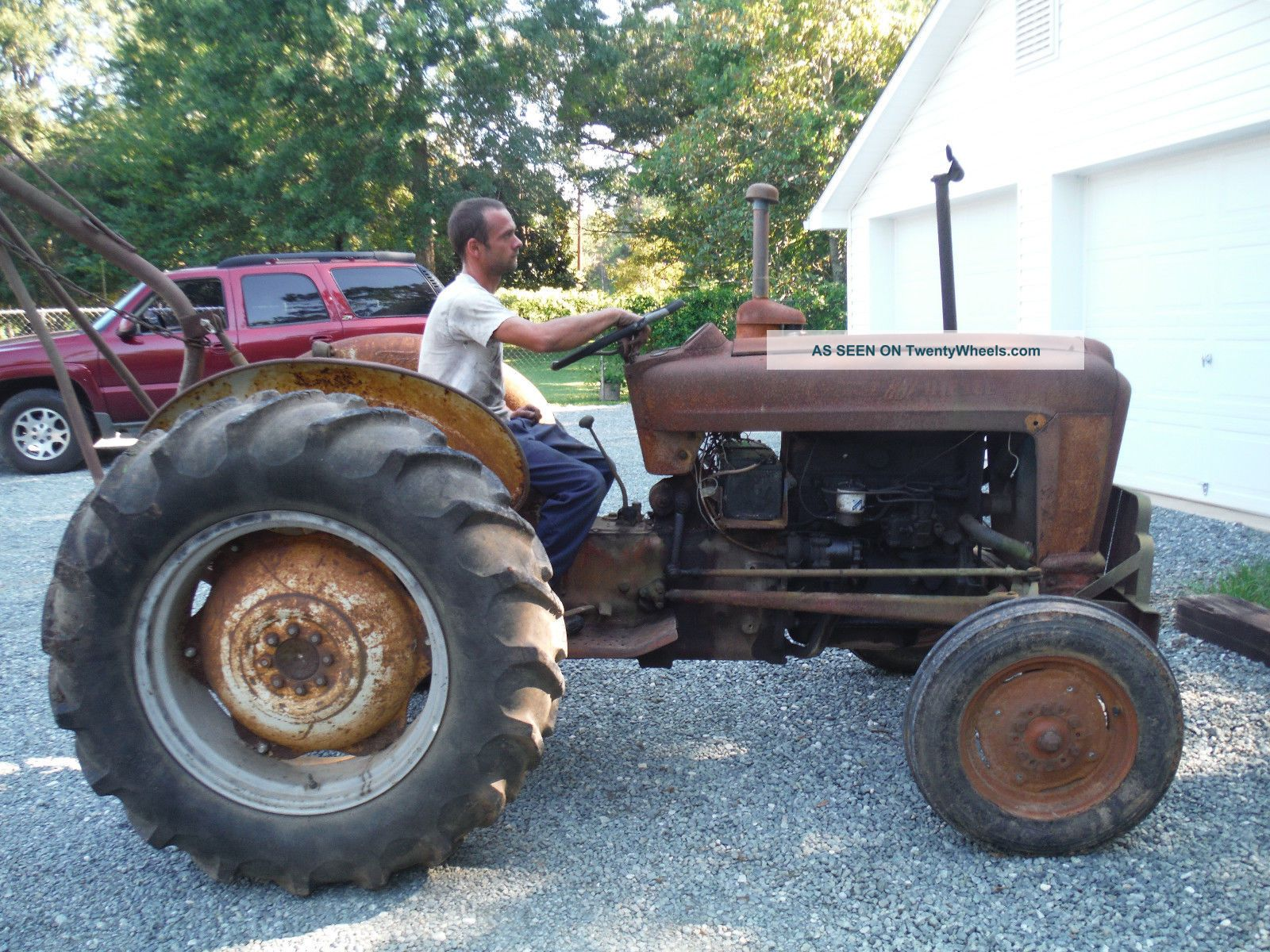 1958 Ford 8n Tractor : Ford tractor speed  n deisel