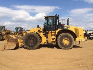 2008 Caterpillar 980h Wheel Loader photo