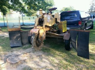 Rayco Stump Grinder 1665ac Wisconsin 65hp Tow Behind photo