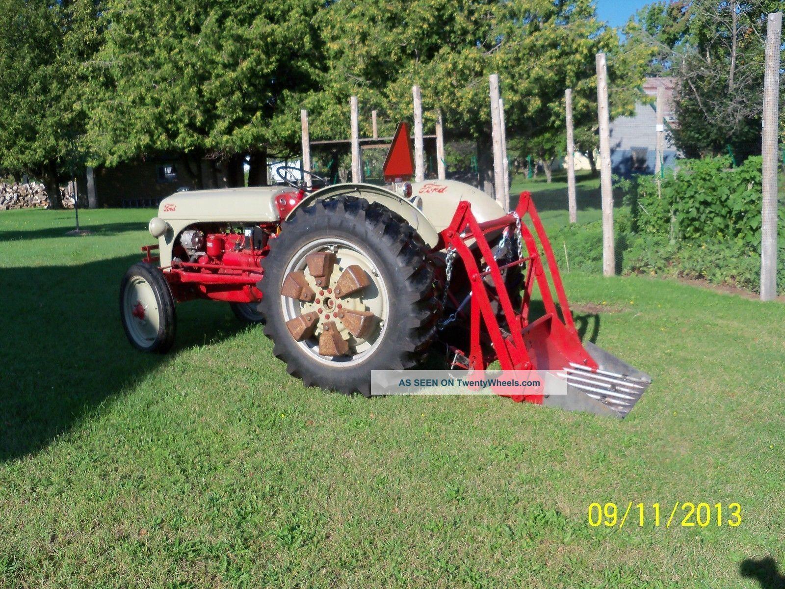 Ford N Tractor Dearborn Rear Loader Lgw