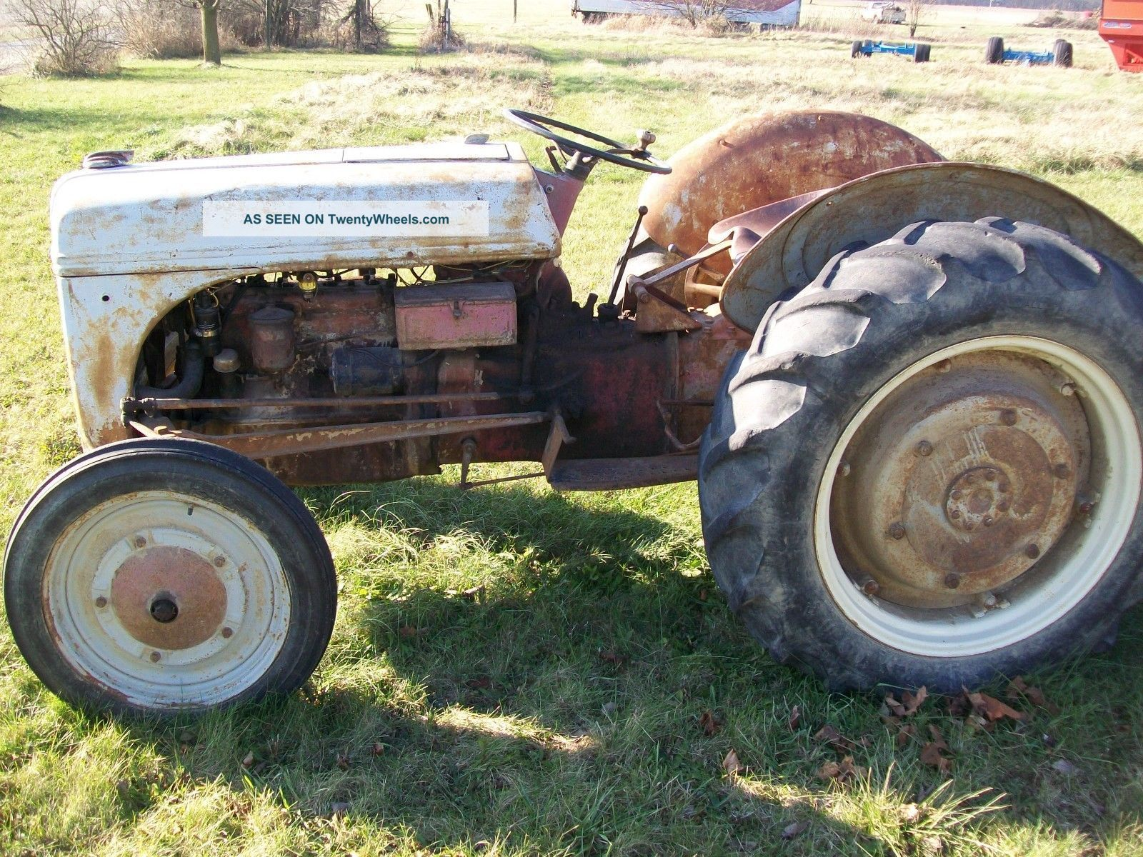 Antique Tractors Ford 9n : Antique ford n tractor serial no working