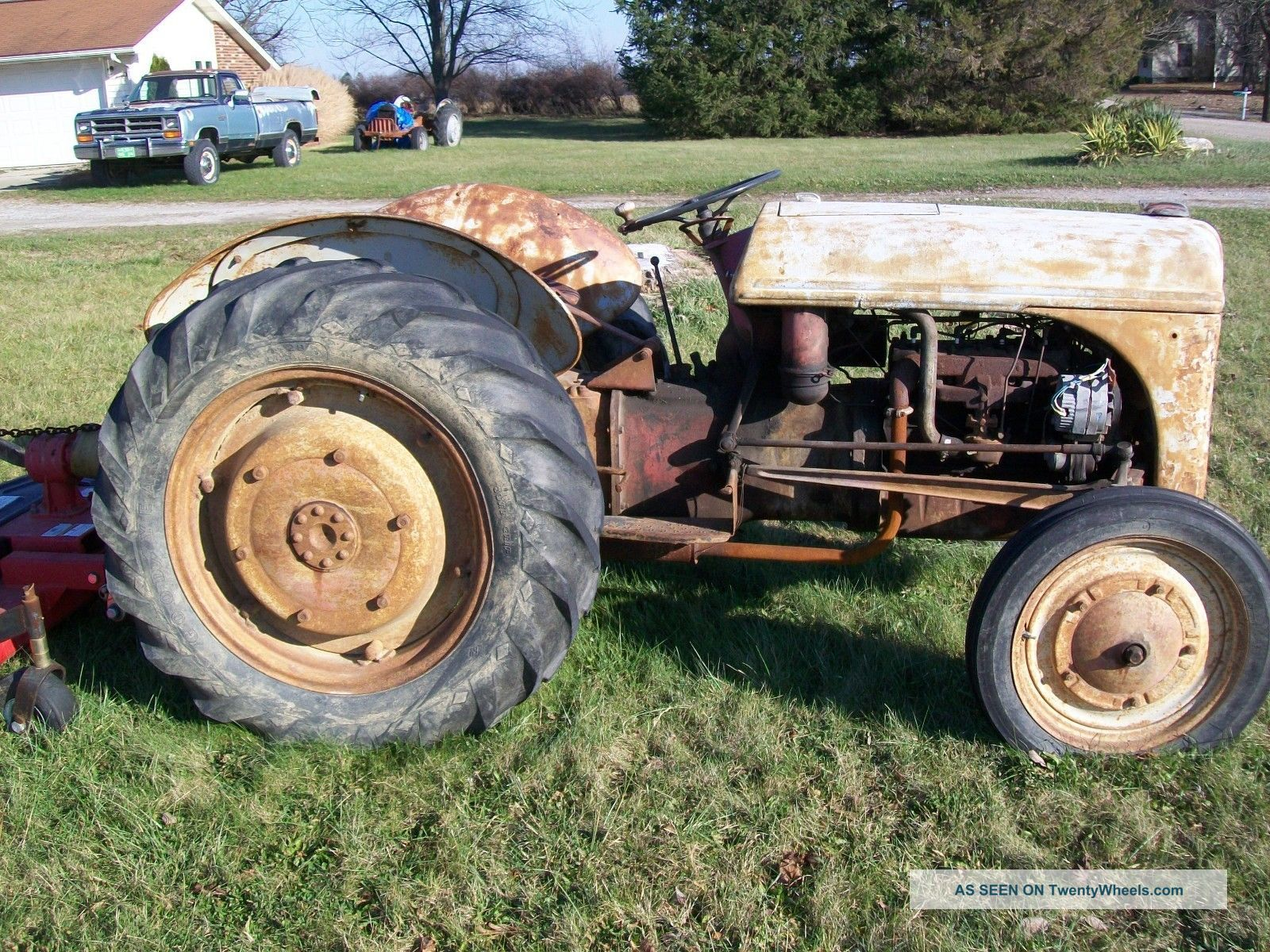 Ford Tractor Identification : Antique ford tractor identification