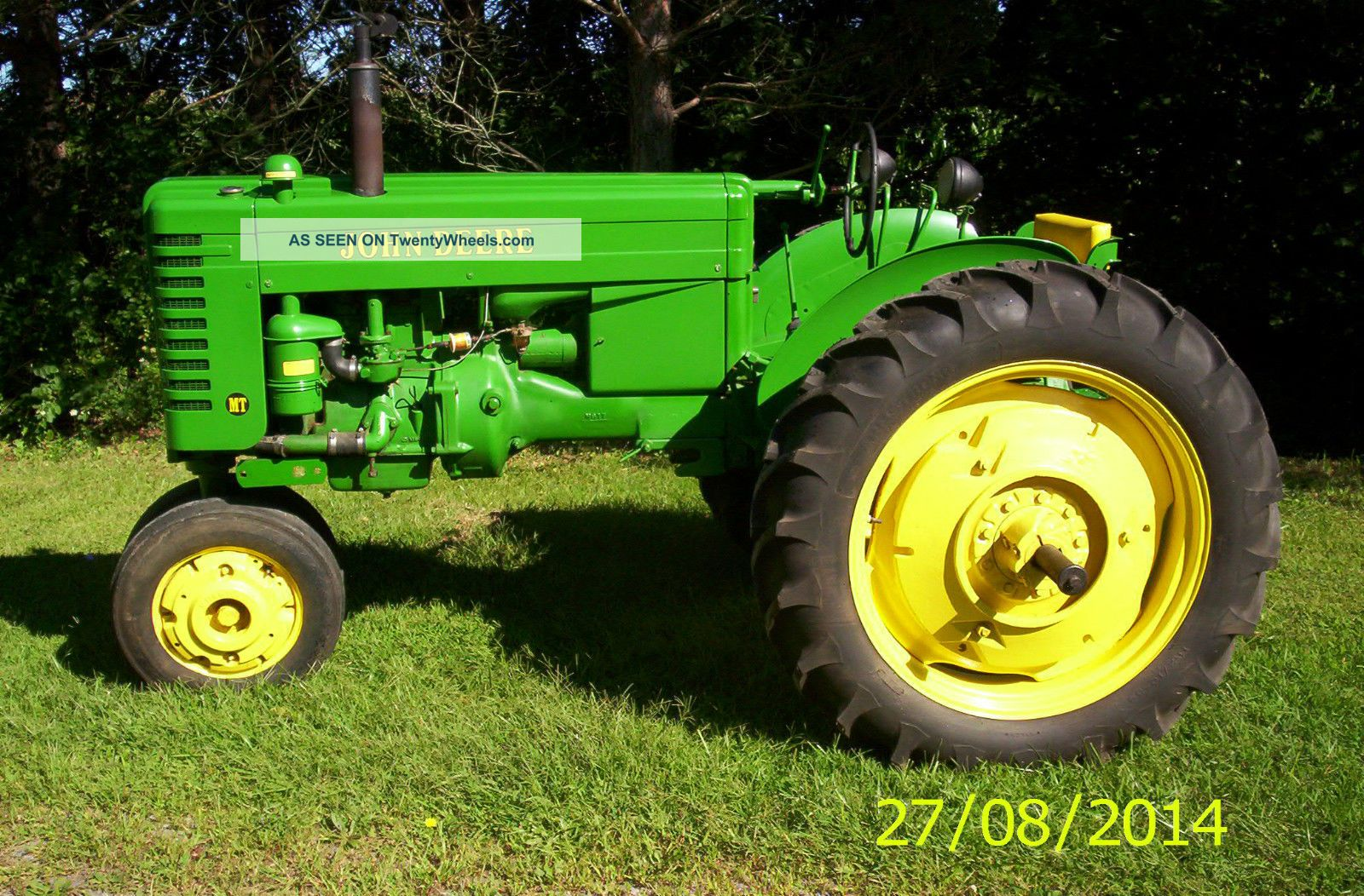 John Deere Mt Tractor For Sale Best Deer Photos Montana Tractors Wiring Diagrams 1949