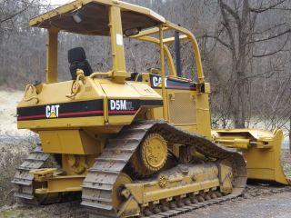 Caterpillar D5m Xl Crawler Dozer photo
