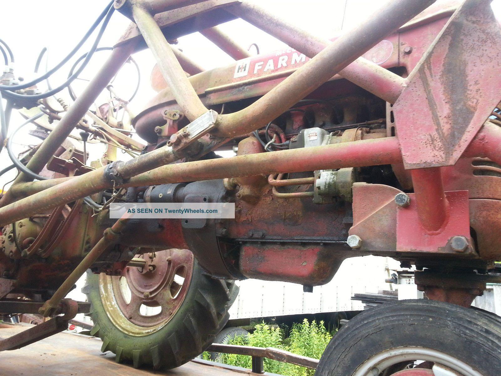 Mccormick Farmall C Model F C Tractor International Harvester Lgw