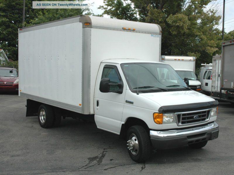 2006 ford e350 duty 14ft box truck. Black Bedroom Furniture Sets. Home Design Ideas