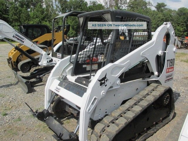 Bobcat Skid Steer Paint : Bobcat t track loader open cab paint good