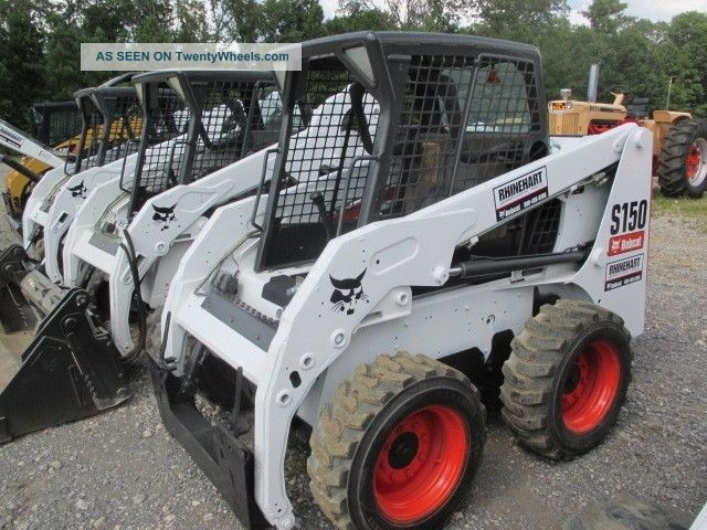 Bobcat Skid Steer Paint : Bobcat s skid steer loader open cab paint