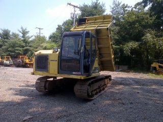 Komatsu Cd60r Track Dump Truck13200 Lb Capacity,  Steel Tracks,  360 Degree Rotate photo