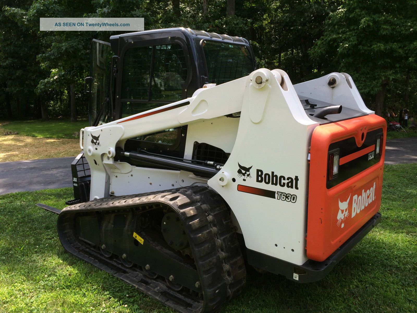 Bobcat Skid Steer Track Loader : Bobcat t skid steer track loader options kubota diesel