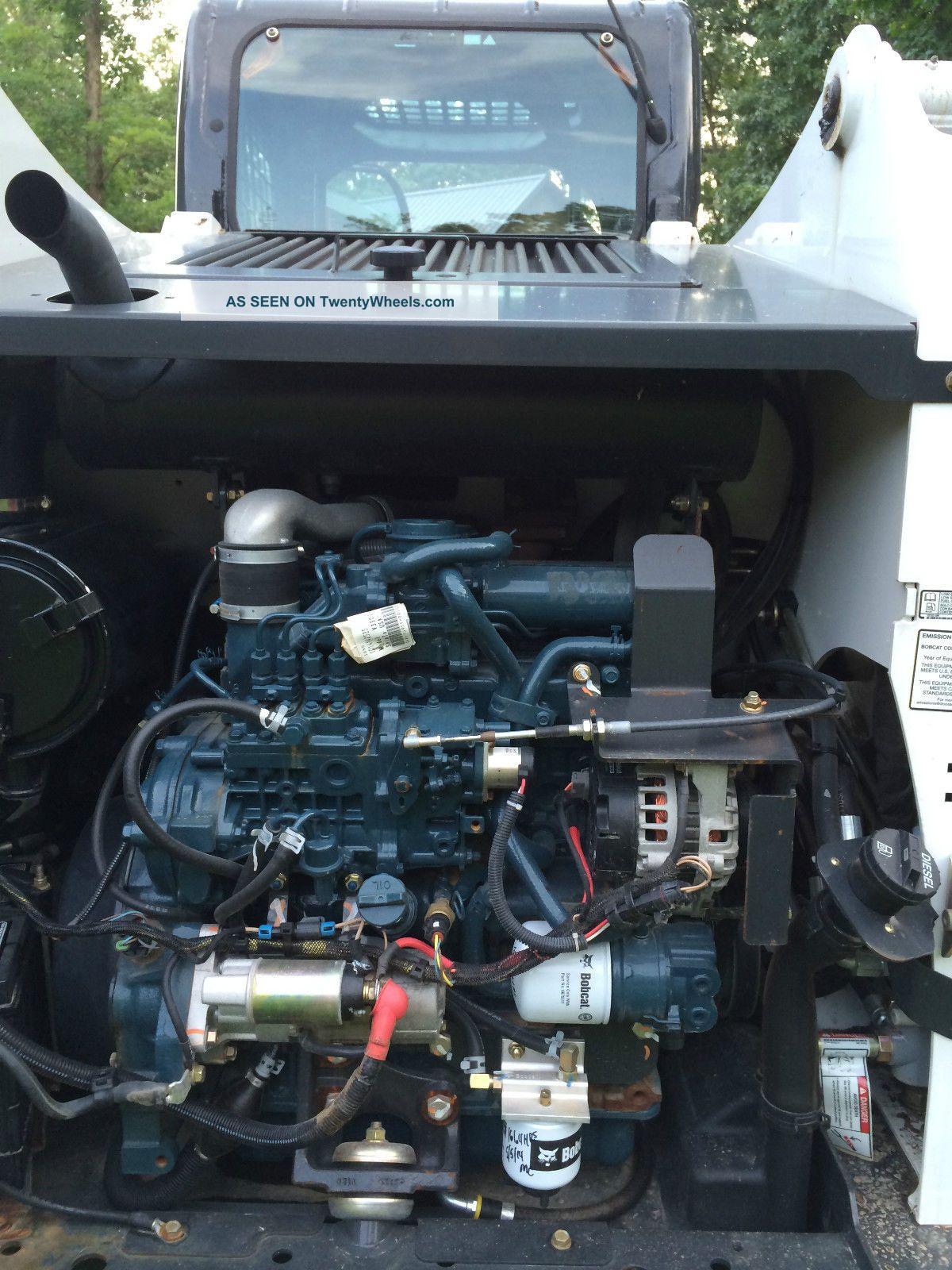 Bobcat T630 Skid Steer Track Loader Options Kubota Diesel Like Deere Cat
