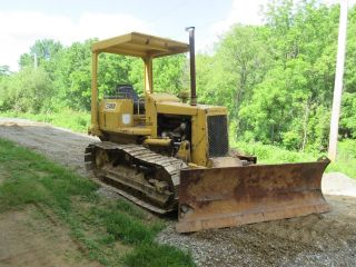 Cat D3 Bulldozer,  Power Shifttrans,  Pedal Steer,  6 Way Blade,  Good Undercarriage photo