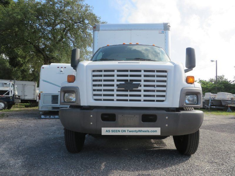 chevrolet   box truck  liftgate  spd