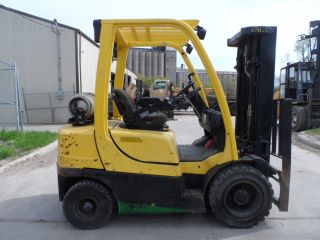 2006 Hyster H50ft Forklift 5000lbs Capacity Pneumatic photo
