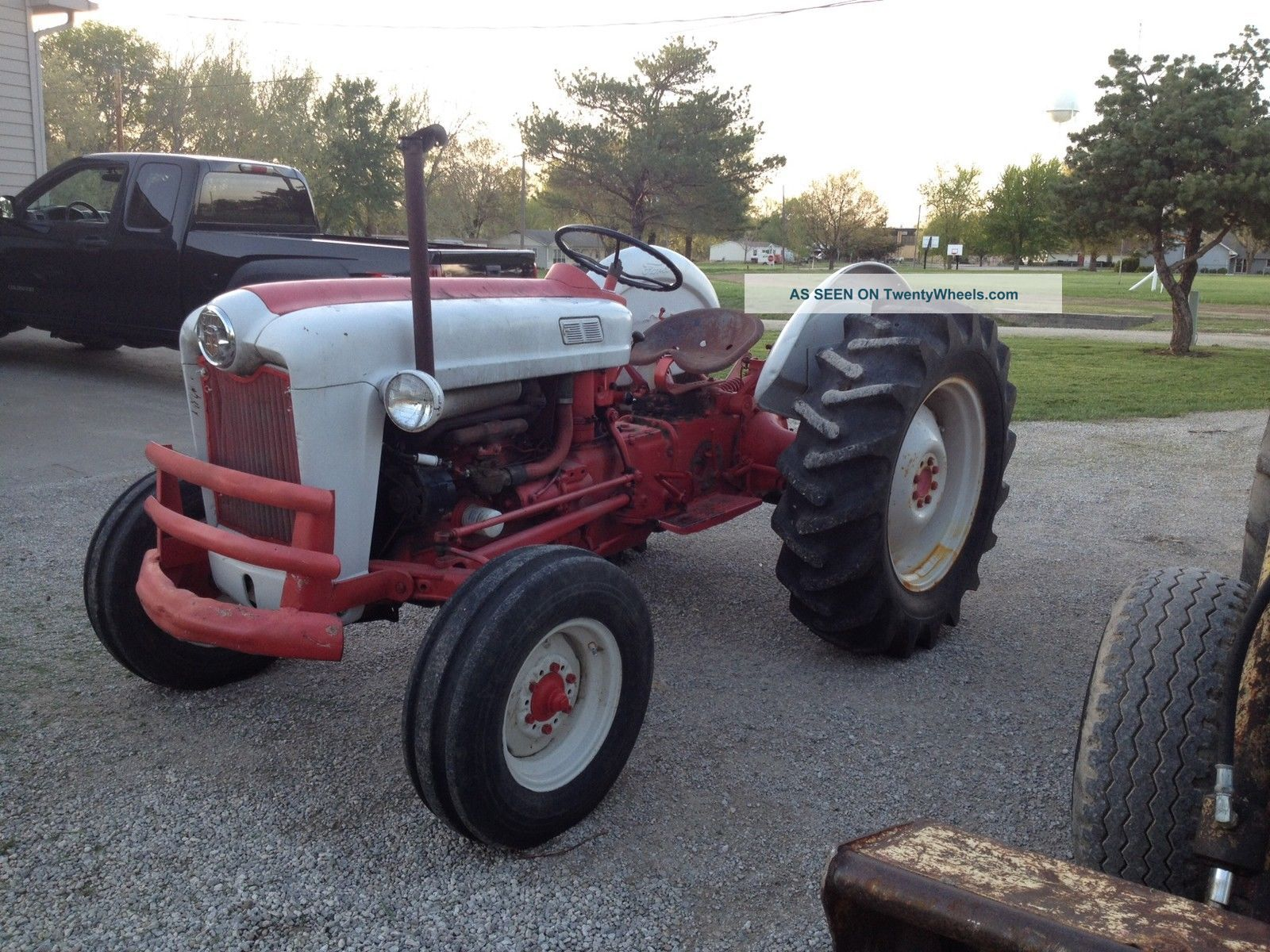Ford 601 Tractor : Ford farm tractor w pto and point