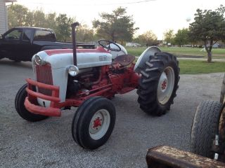 1958 Ford 601 Farm Tractor W/ Pto And 3 Point photo