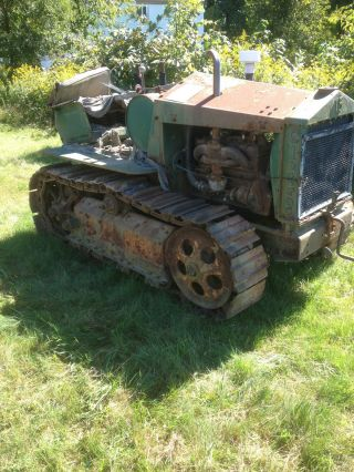 1932 Cletrac Model 15 Crawler Tractor photo