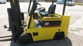 6000 Cat Forklift photo