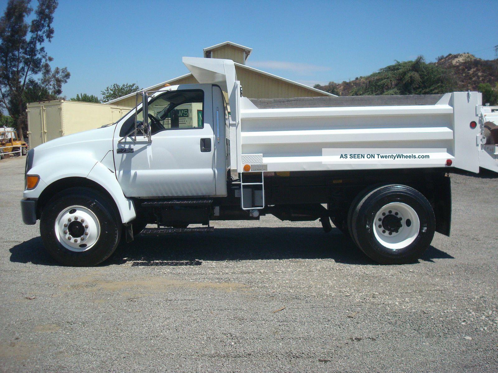2000 ford f750 dump truck