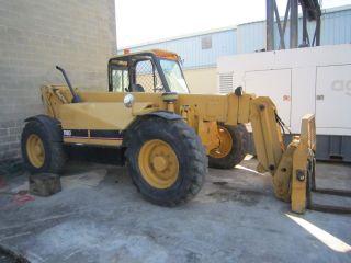 Cat Th83 Telescopic Forklift,  Cat Diesel,  Good Tires,  8,  000,  Machine photo