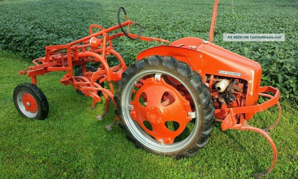 Allis Chalmers G Tractor : Allis chalmers g
