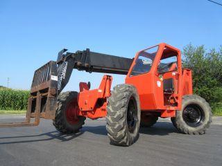 Terex Ss636 Telescopic Forklift,  Jd Diesel,  Good Tires,  6,  000,  Machine photo