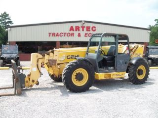 2007 Gehl Dl10l55 Telescopic Forklift - Loader Lift Tractor - Stabilizers - 10k photo