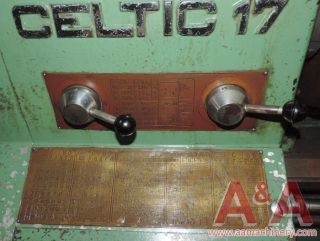 Celtic 17 X 60 In.  Engine Lathe 24030 photo