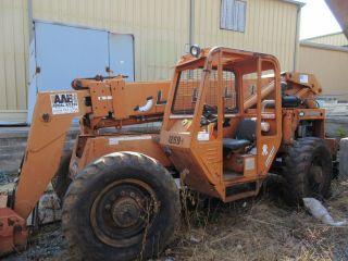 Lull 644b - 42 Telescopic Forklift 6000 Lift 42 ' Height Cummins Diesel photo