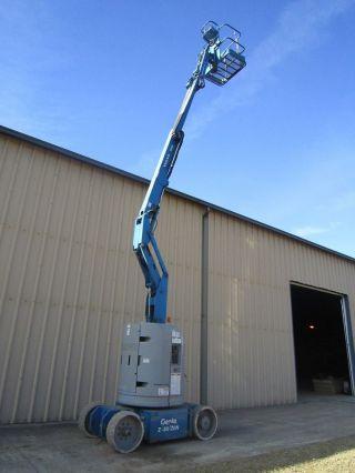 1999 Genie Z30/20 Articulating Boom Lift, ,  Machine,  30 Foot photo
