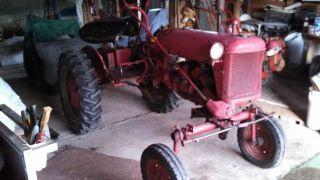 Antique Tractor Farmall Cub photo