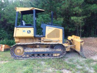 John Deere 650 J Lt Bulldozer photo