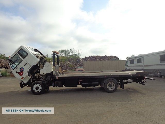 Tow Truck 2006 International 4300 Rollback Flatbed .html | Autos Post