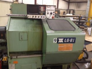Wasino Model Lg - 81 Gang Style Cnc Lathe,  Www.  Assetexchangeinc.  Com photo