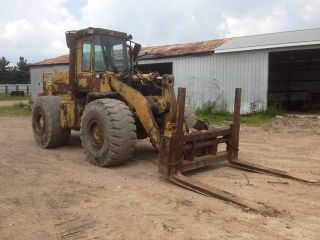 Caterpillar 966d Wheel Loader - Excellent Runner Org Paint photo
