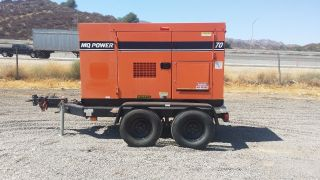 Mq 70 Kva Only 611 Documented Hours,  Silence John - Deere Turbo Diesel Touch And Go photo