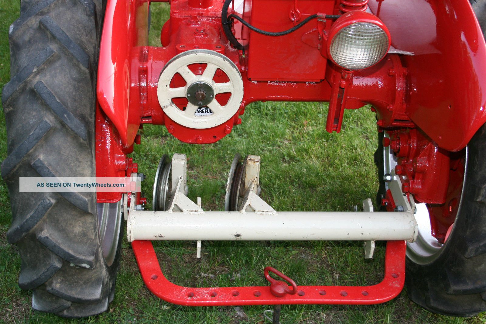 Woods Rm59 Finish Mower Wheels