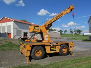 1999 Broderson Ic - 80,  Carry Deck Crane,  Ic 80 - 2f,  17,  000 Max.  Capacity,  Lp Gas photo