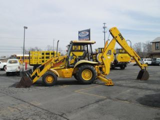 2001 Jcb 215 4x4 Loader Backhoe Extendahoe - 1800 Hours photo