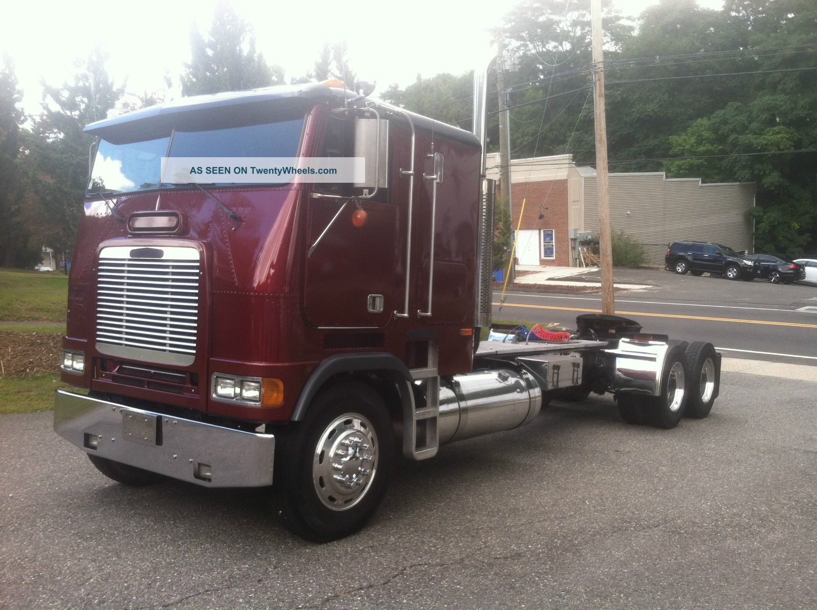 pin 1995 freightliner cabover interior images to pinterest