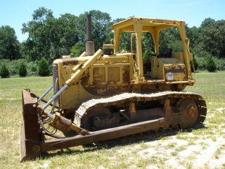1990 Caterpillar D6d Crawler Dozer photo