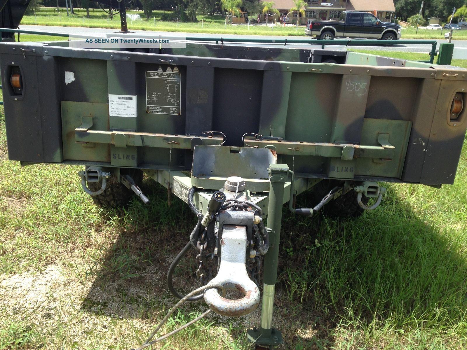 M1101 Military Cargo Trailer 1 1/2 Ton