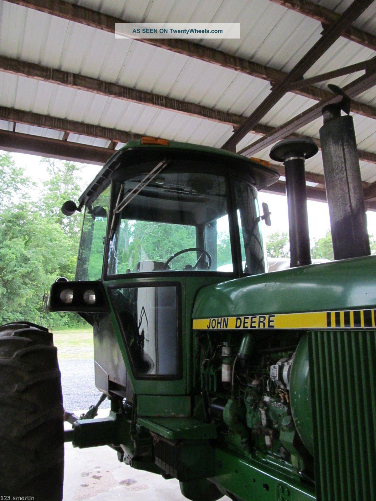 john deere 4440 farm tractor 130 hp quad range dual. Black Bedroom Furniture Sets. Home Design Ideas
