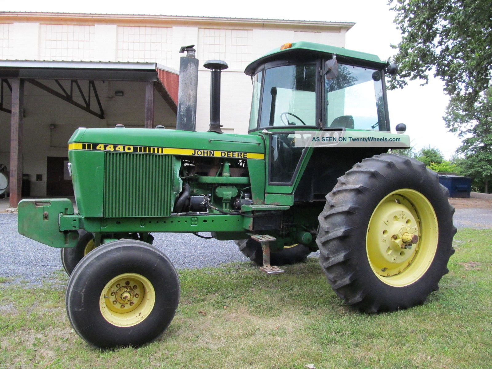 John Deere 4440 Rim : John deere farm tractor hp quad range dual