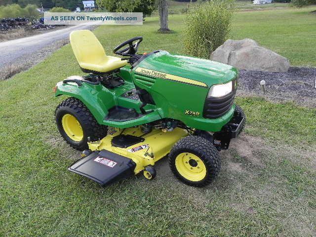 John Deere Garden Tractors 4x4 : John deere ultimate diesel garden tractor