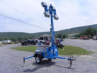 2005 Genie Tml4000n Portable Light Tower Light Plant Diesel 6kw Generator photo