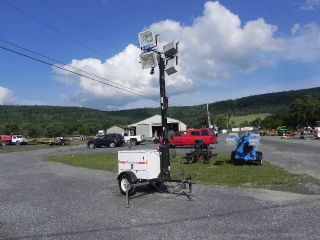 2005 Magnum Mtl3060 Portable Light Tower Light Plant Diesel 6kw Generator photo