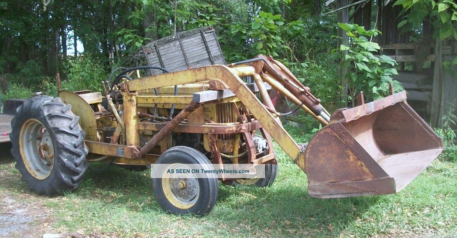 john deere 40 u utility tractor with henry loader