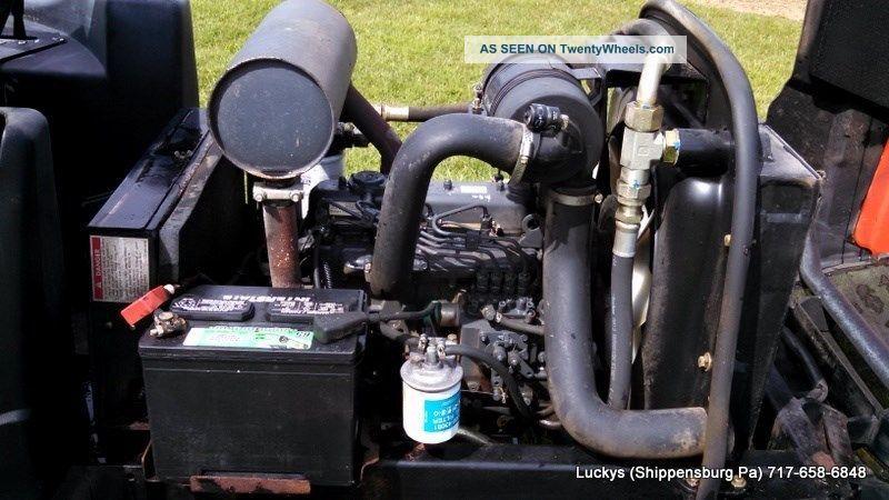 Kubota V1305 Diesel Engine : Jacobsen fl golf fairway reel mower kubota diesel